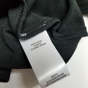 Gabby Skye Dresses - NEW Gabby Skye Black Ruffle Sleeve Dress LBD
